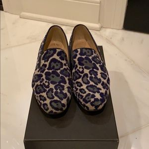 J.Crew Georgie Leopard Loafers